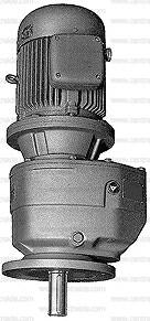 reductor coaxial brida vertical agitador jiv msv ms ma con motor