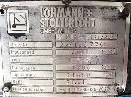 Placa reductor Lohmann
