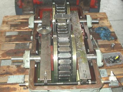 catalogo de repuestos y recambios para cadenas variador PIV: láminas y eslabones, discos y rodamientos.