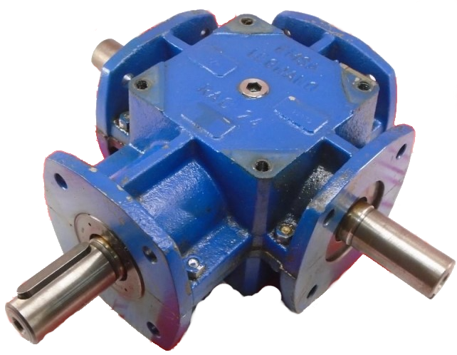 motor y reductor reenvío ortogonal emsa moteur et reducteur