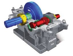 Voith Bhs repair spare parts and gear: gearmotor and gearboxes catalog Voith.