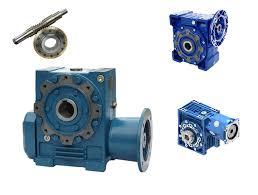 Reductor  SGR y motor-reductores Sinfín corona fundición y aluminio