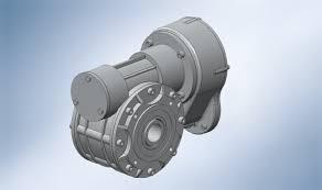 motores y reductores sinfín coaxial Walther y Flender