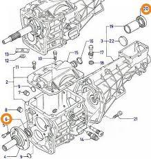 Despiece caja de cambios reductor gearbox Borgwarner