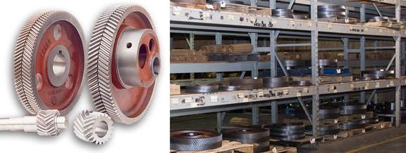 Lufkin ejes ruedas gears