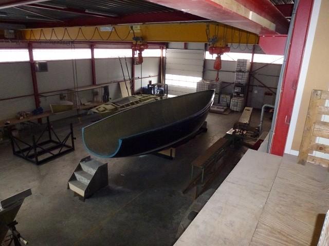 So langsam kann man ein Boot erkennen - 17.09.2011