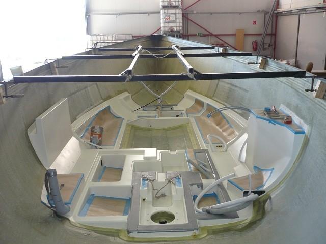 Da kann der Innenausbau langsam anfangen - 29.09.2011