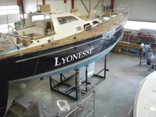 Unser Schiff hat einen Namen - und einen Kiel - 08.05.2012