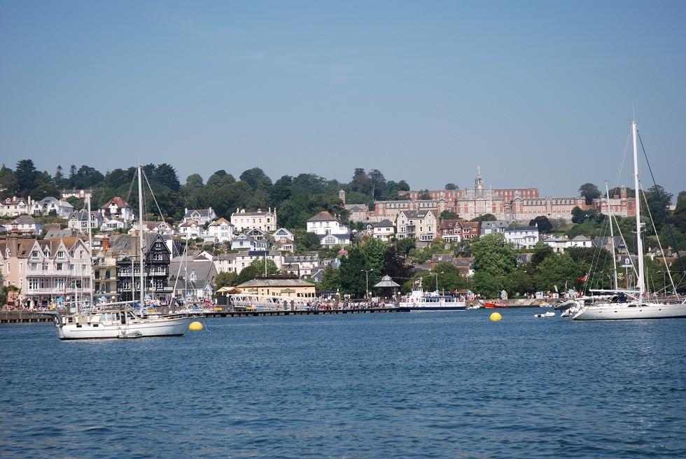 Dartmouth mit Royal Naval College