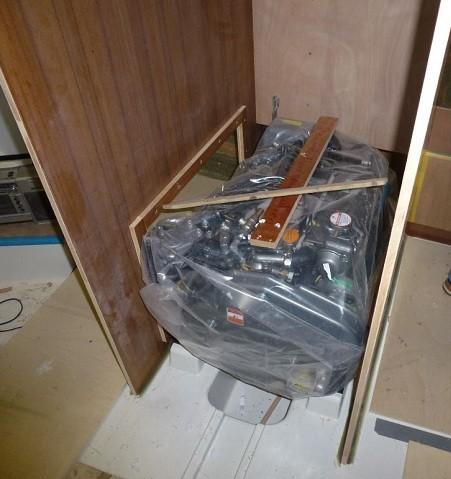 Der Motor ist bereits eingebaut - 24.11.2011