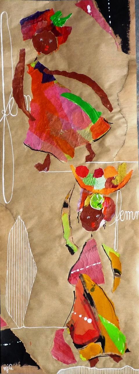 Les Africaines (67/25 cm)