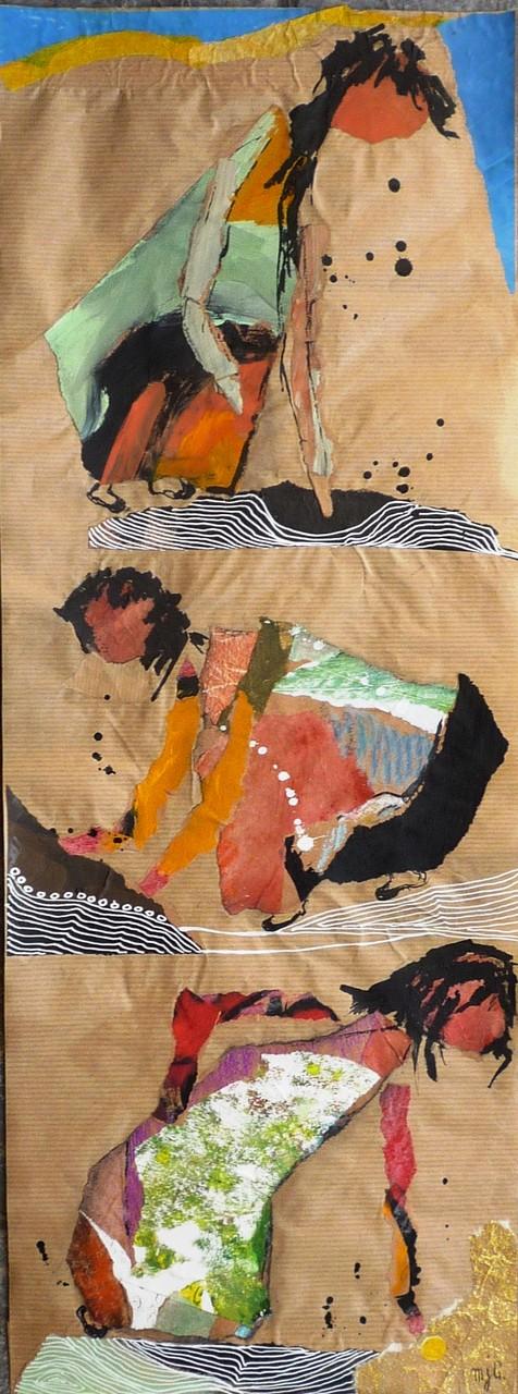 Les femmes de la terre (67/25 cm)