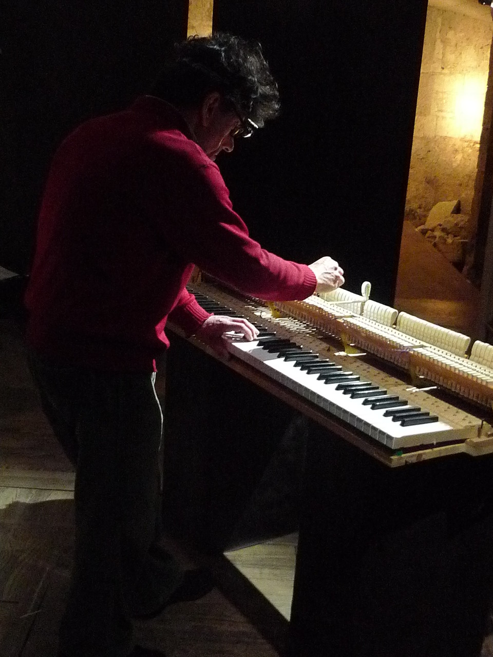 Et savoir quelle sensation le pianiste aura sous les doigts au final.