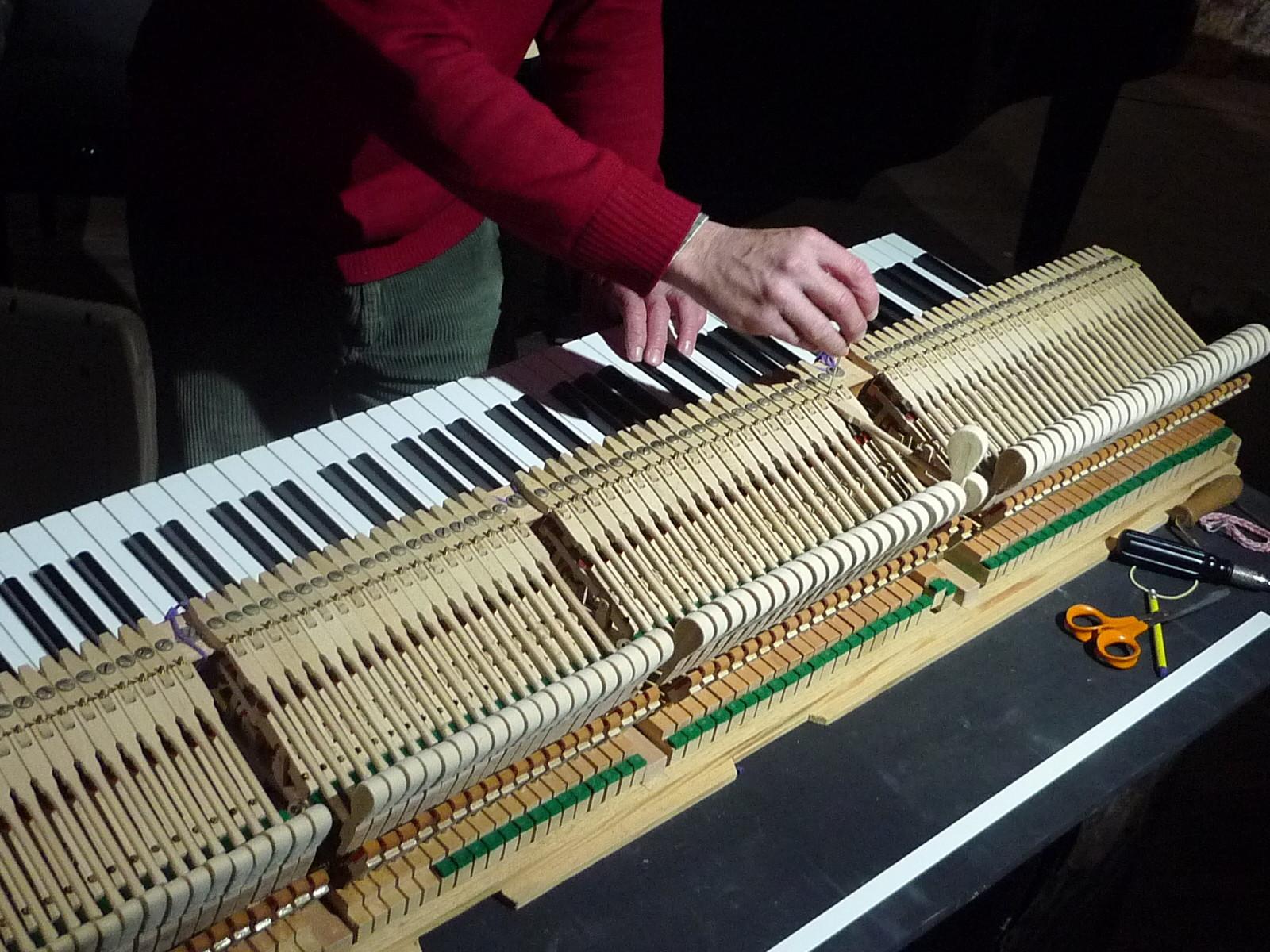 Un piano à queue est équivalent à une voiture de sport, au niveau précision.