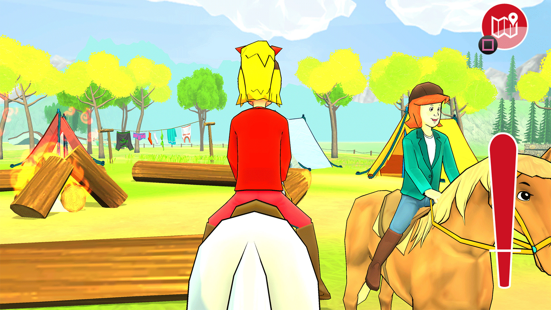 Screenshot: Bibi & Tina - Das Spiel zum Kinofilm