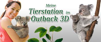 Game Banner Meine Tierstation im Outback 3D