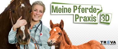Game Banner Meine Pferde-Praxis 3D