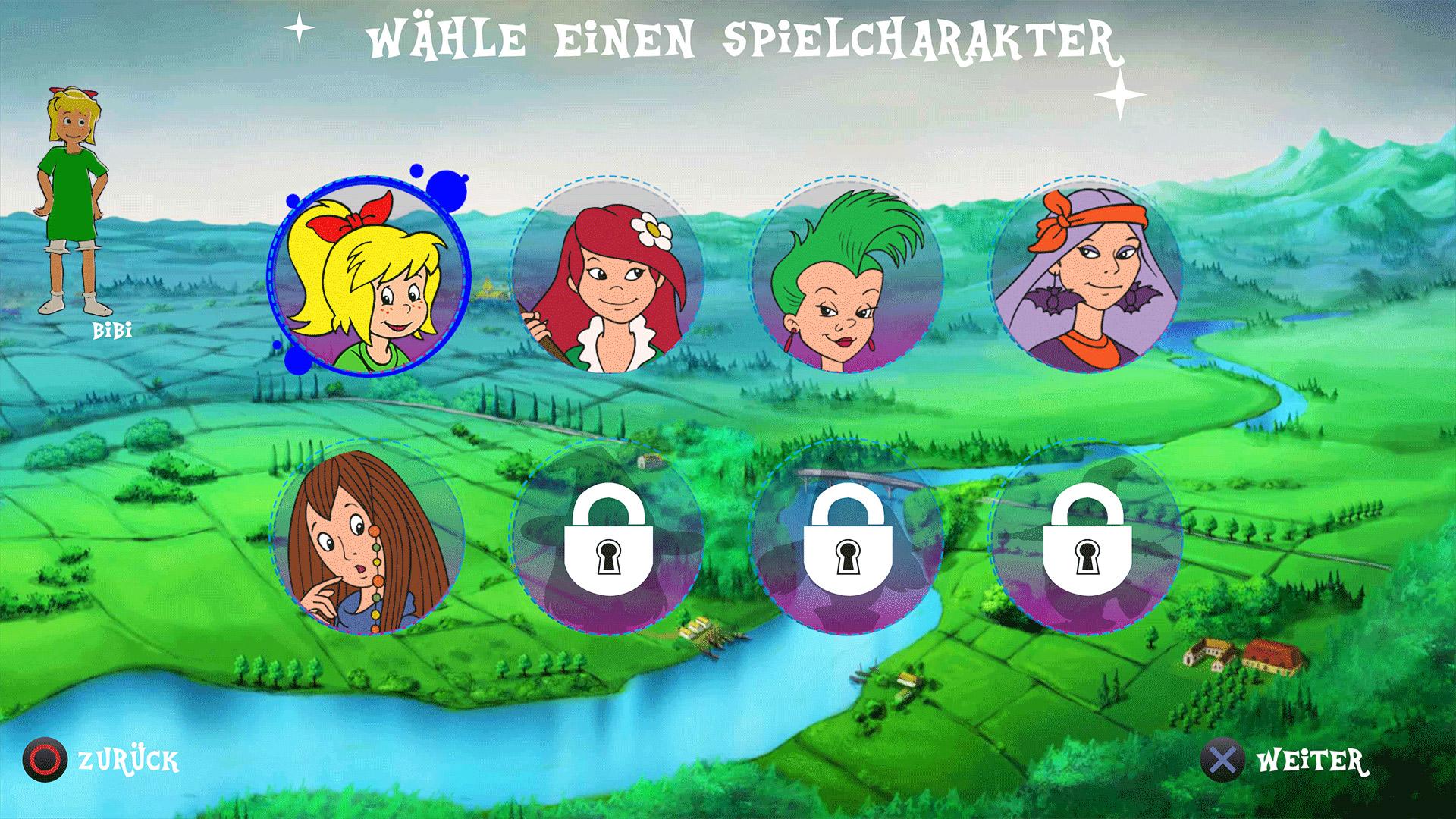 Screenshot: Bibi Blocksberg - Das große Hexenbesen-Rennen 3