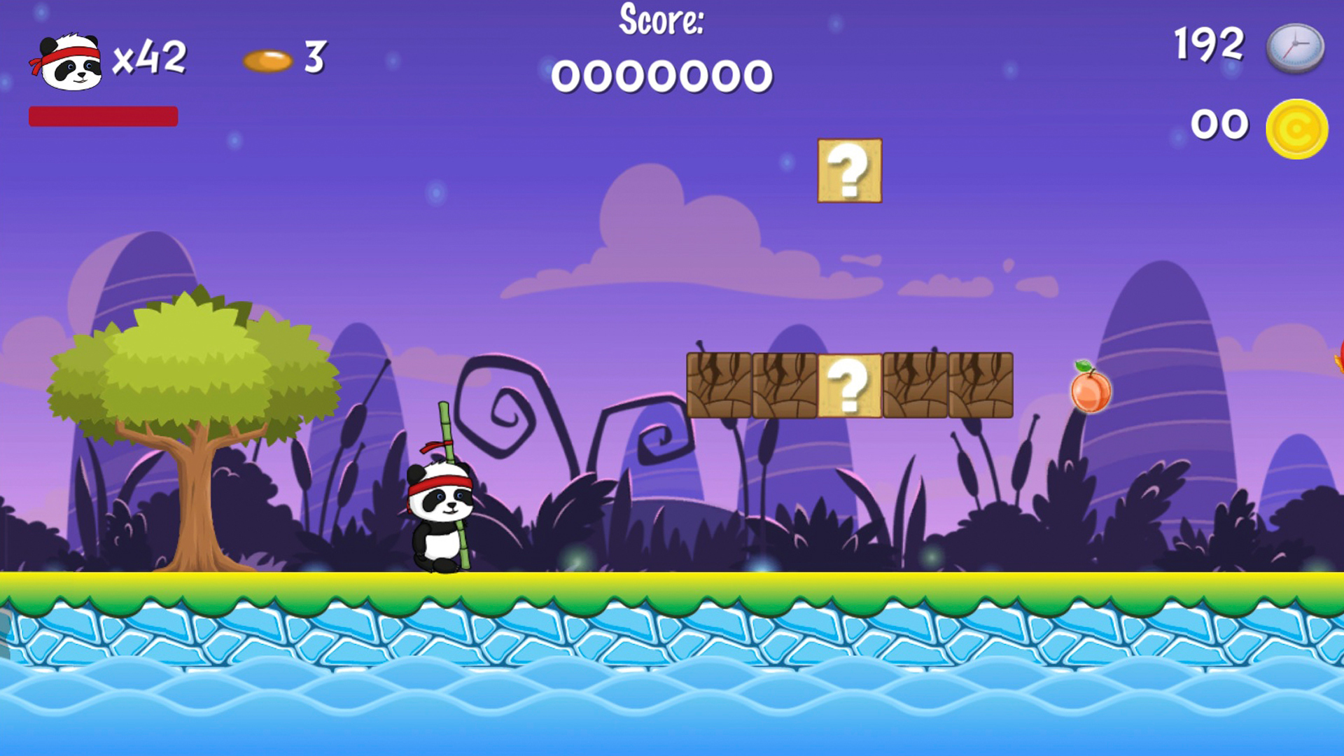 Screenshot: Panda Hero