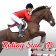 Title Info Graphic Riding Star 3D