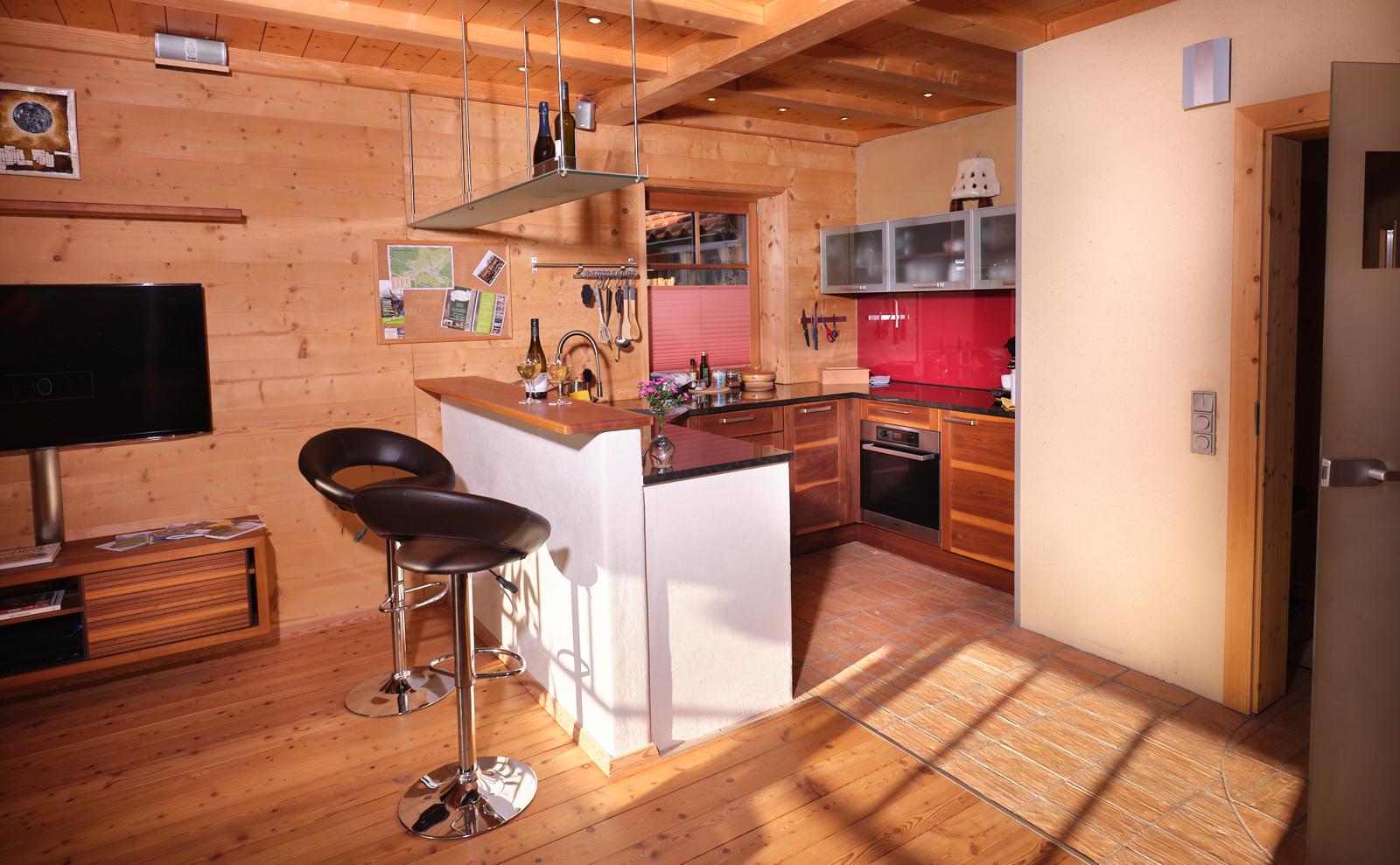 Ess- und Küchenbereich  © Haus Lorea Ehrwald - Birgit Standke