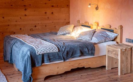 Schlafzimmer 1 von 2  © Haus Lorea Ehrwald - Birgit Standke