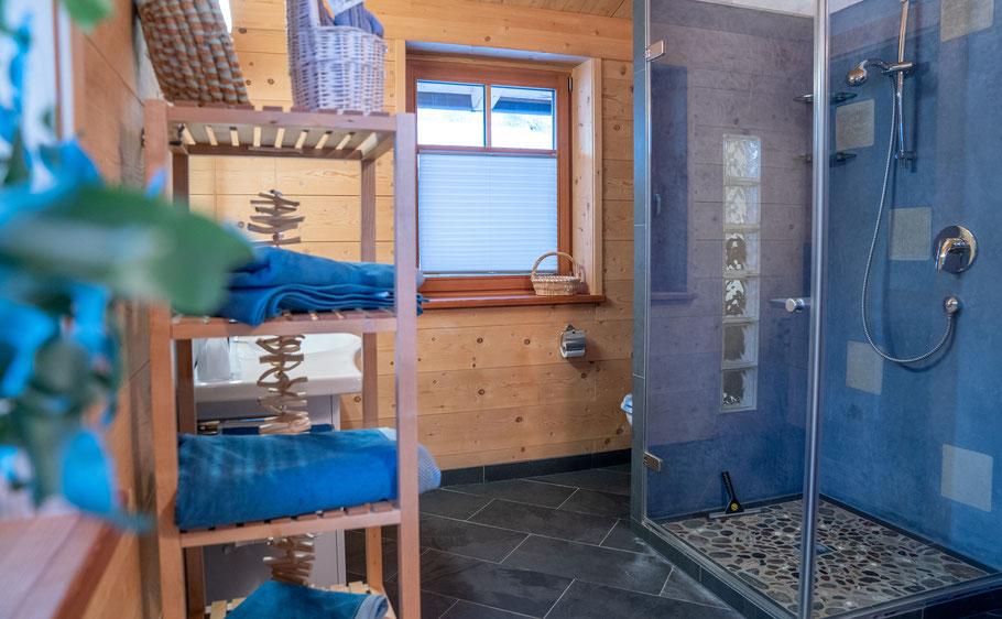 Badezimmer 1 von 2  © Haus Lorea Ehrwald - Birgit Standke