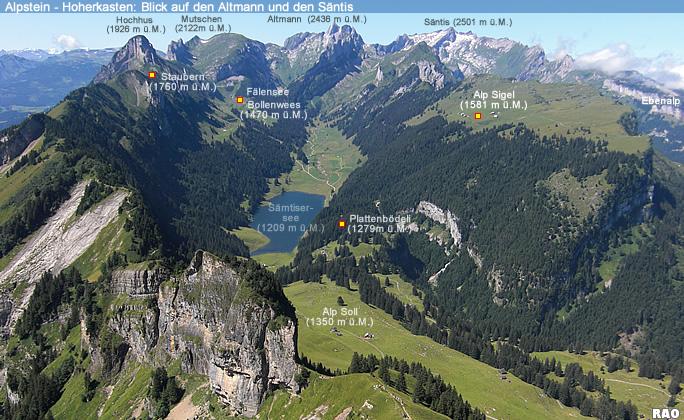 Alpstein-Panorama
