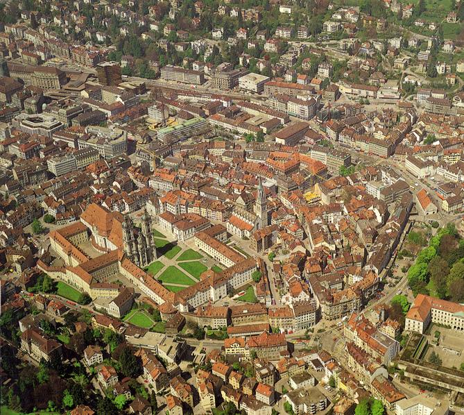 St. Gallen Klosterbezirk und Altstadt
