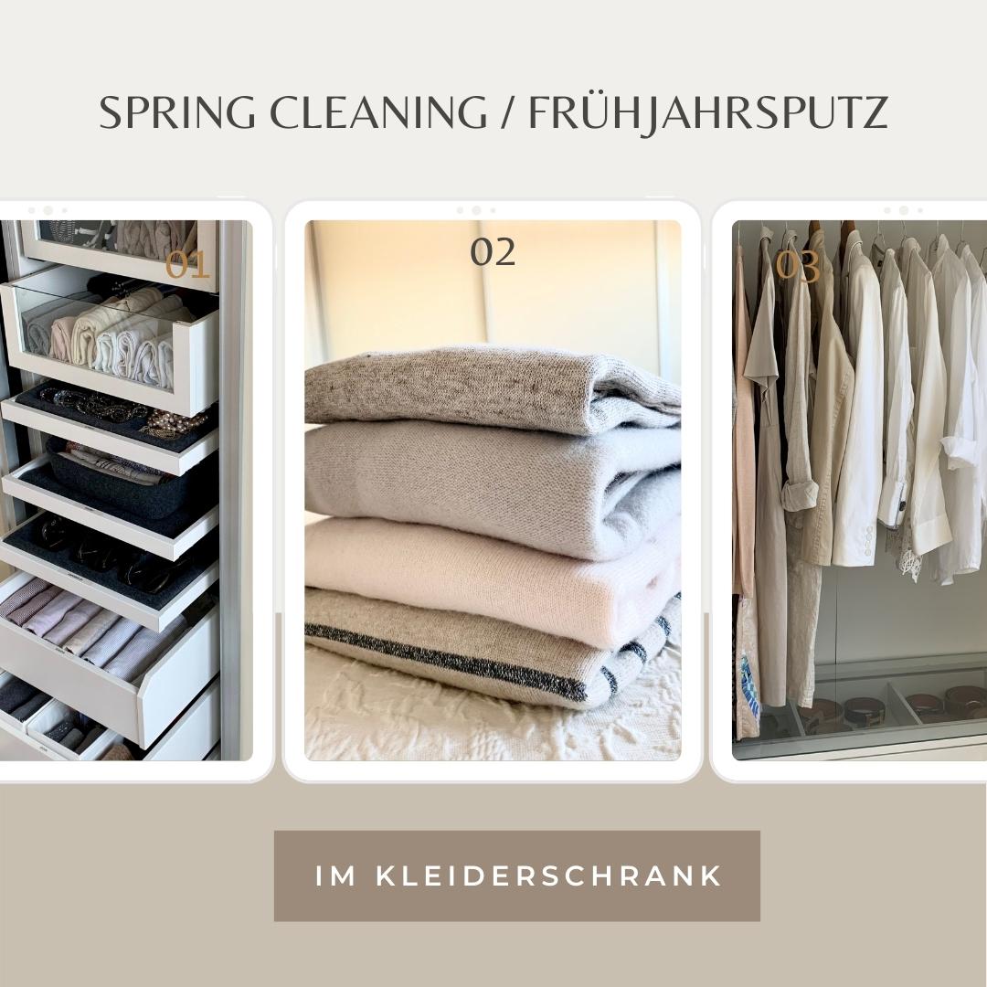 Spring Cleaning / Frühjahrsputz im Kleiderschrank