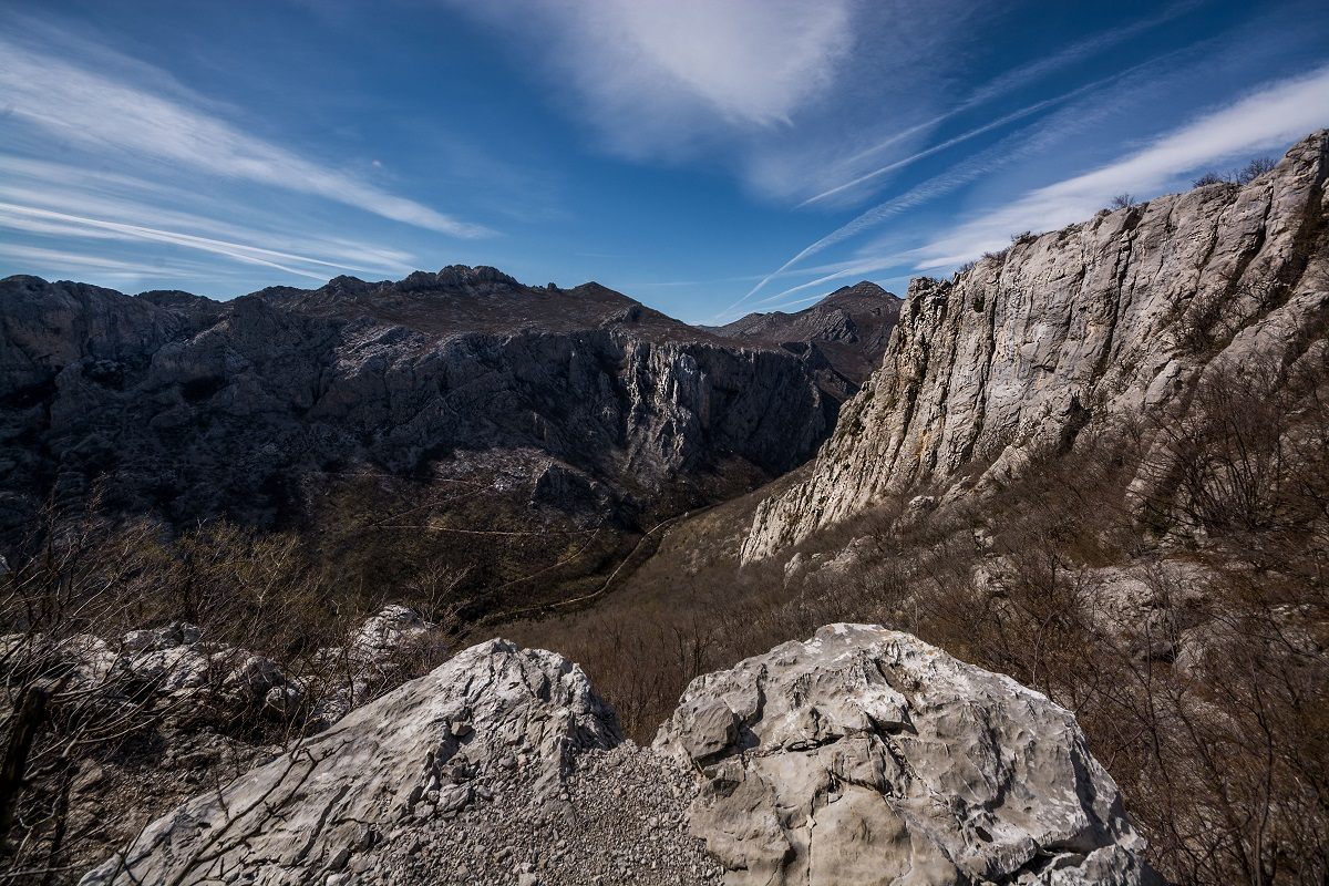 Balkan mountains Croatia