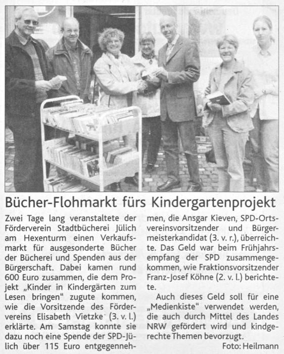 Jülicher Nachrichten vom 27.04.2004