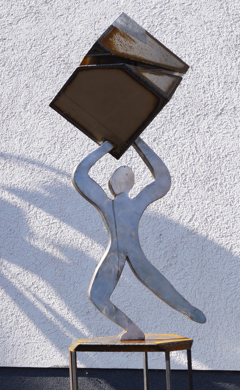 Skulpturen edelrost gartendeko rost edelstahl for Edelrost skulpturen