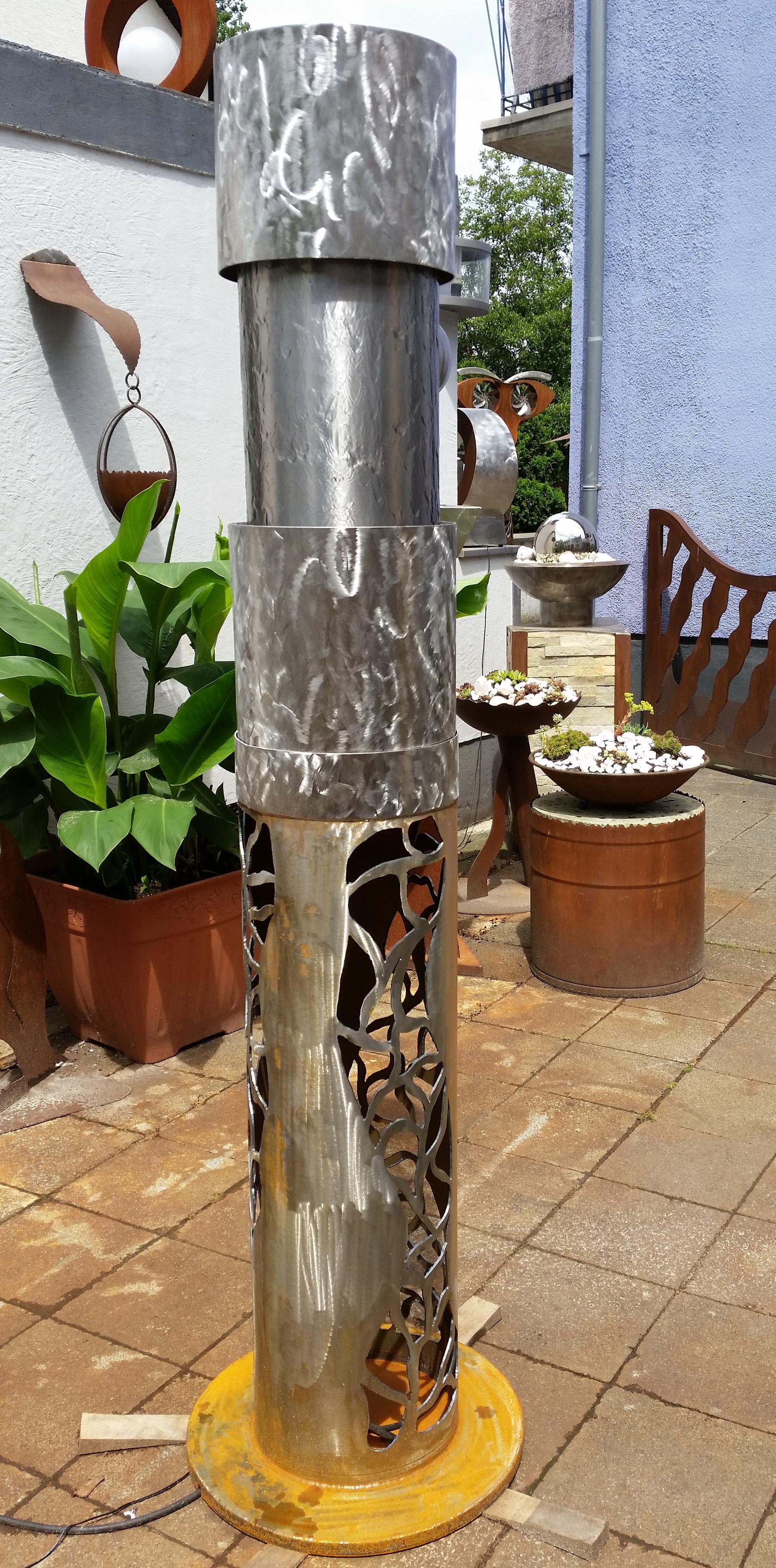 Einzigartig Gartendeko Edelstahl Ideen