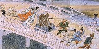 「小栗判官」。 土車に乗せられた餓鬼阿弥は、藤沢から熊野へと曳かれてゆく