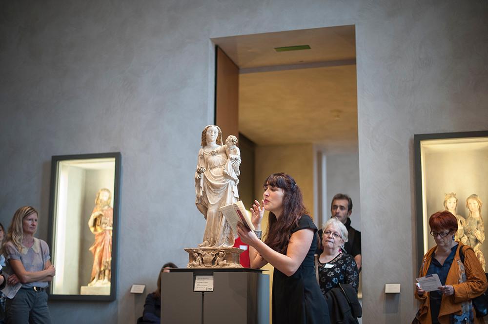 """Anne Rauturier et """"la vierge à l'enfant"""""""