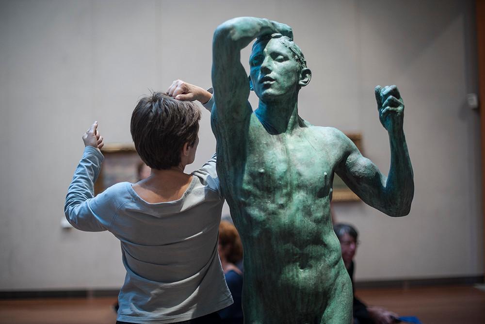 """Danse autour de """"l'âge d'airain"""", Rodin par Daisy Fel"""
