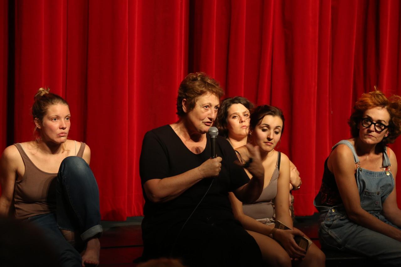 Débat avec le public après le spectacle - Sylvie Mongin-Algan,metteuse en scène