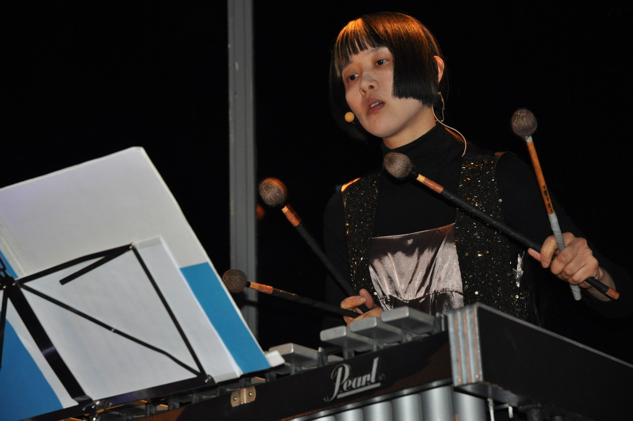 Yi Ping Yang, percussionniste