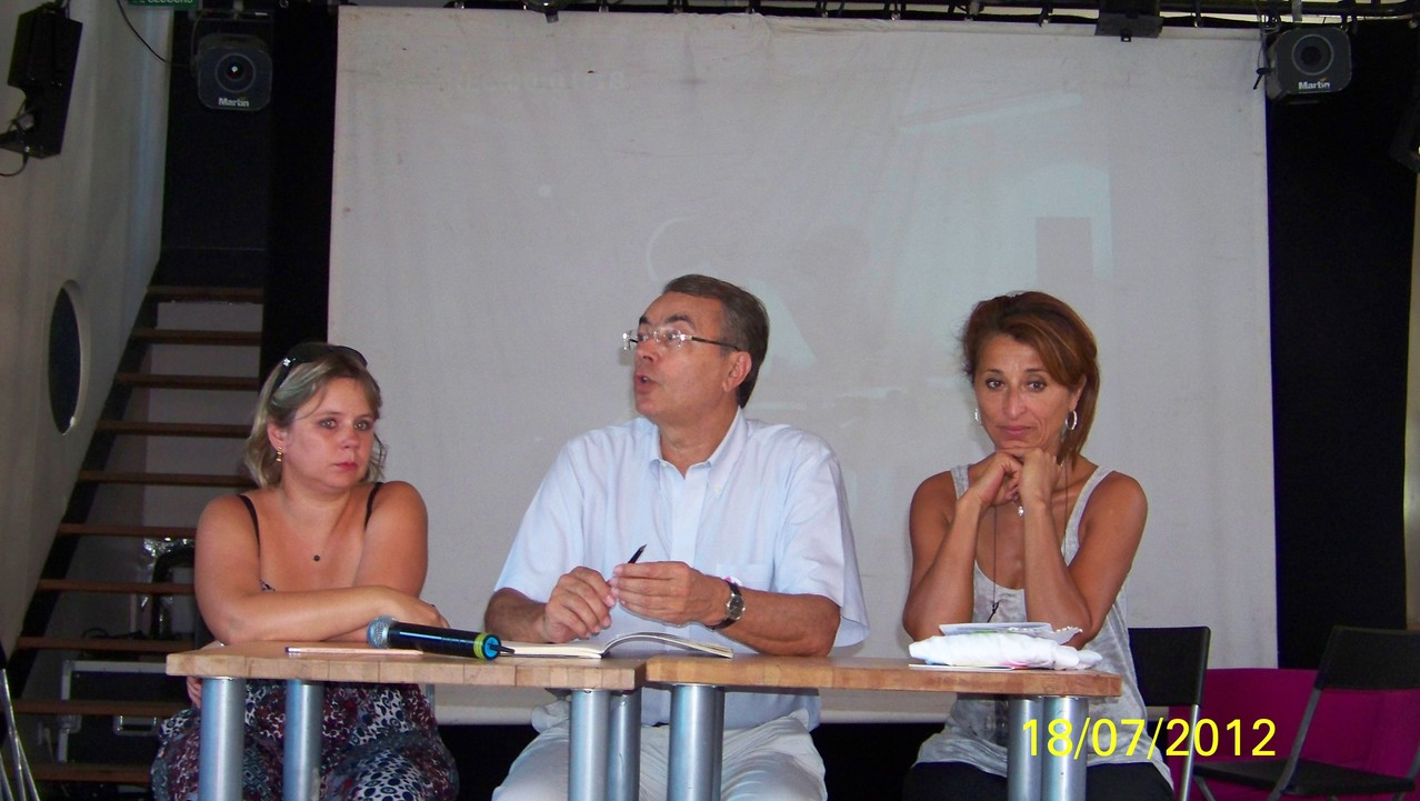 Cécile Cukierman, Jean-Jack Queyranne, Farida Boudaoud