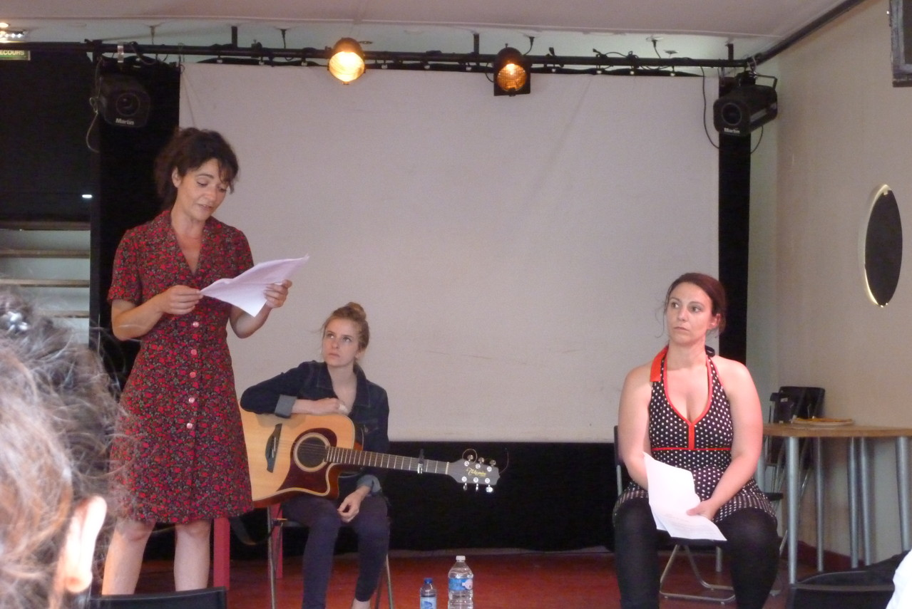 Intervention HF Normandie - Valérie Diome, Juliette Richards et Anne-Sophie Pauchet