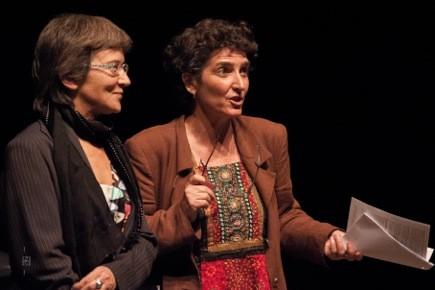 9/10: soirée de lancement à Saint-Etienne, Françoise Barret & Daisy Fel