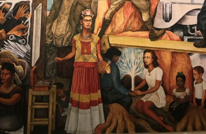 Frida Kahlo in het Cobramuseum
