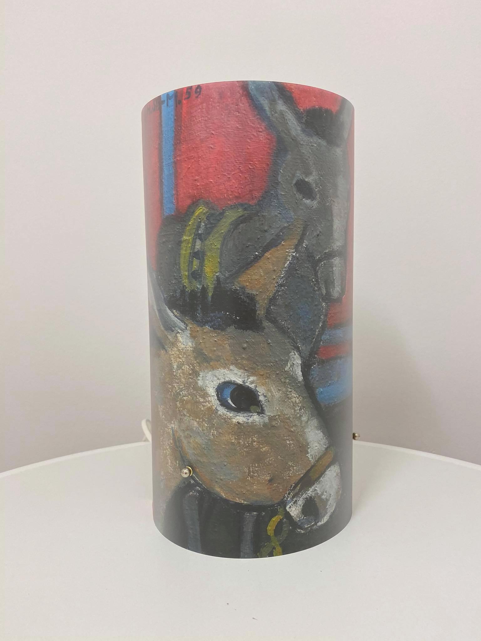 Zylinderlampe Esel