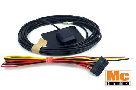 TravelControl Einbausatz mit GPS-Antenne und Anschlusskabel, Originalware