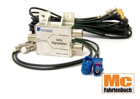 GPS-Antennenweiche (FAKRA) für TravelControl Fahrzeuggeräte