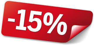 15% Rabatt auf ALLES