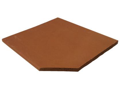 Loseta de Barro Extruído 30x30 Pentagonal