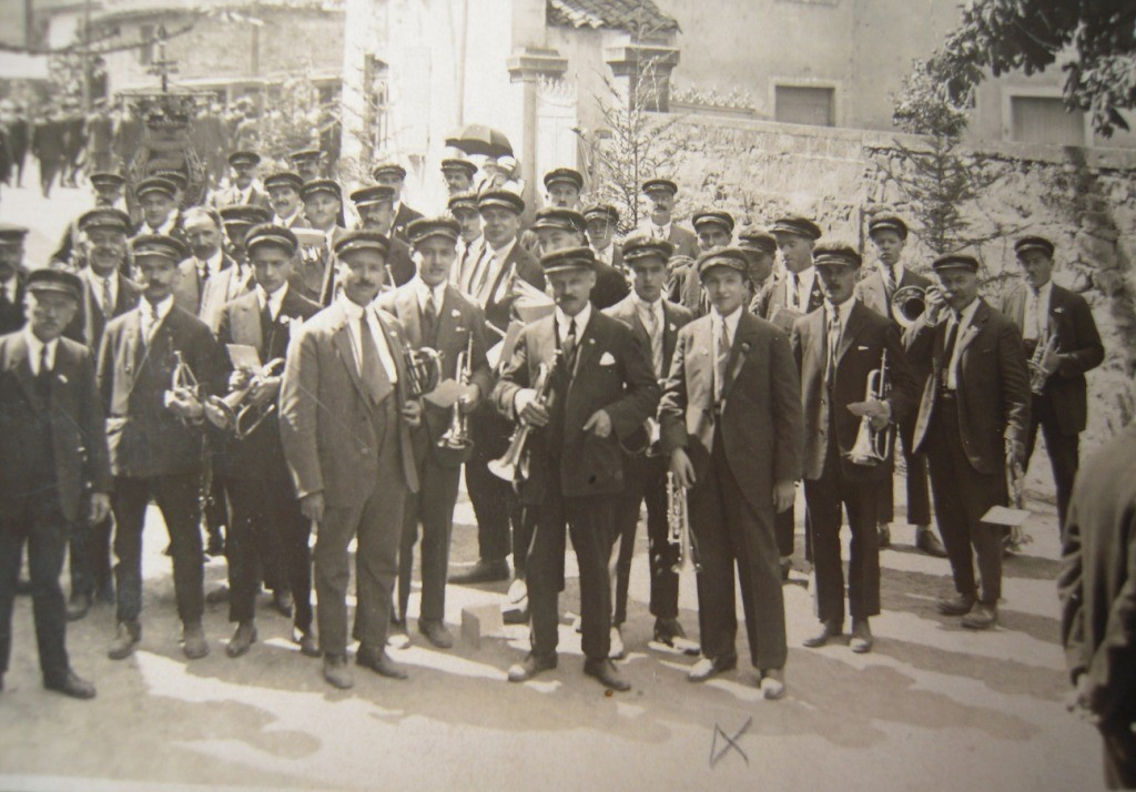 La fanfare en 1935