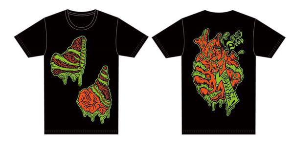 偶想DropTシャツ designby:Morry(DMK)